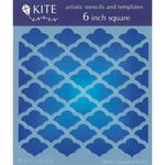 Casablanca 6 x 6 Kite Stencil - Judi Kins