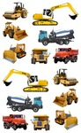 Tractor & Truck Stickers - Mrs. Grossmans
