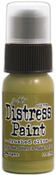 Crushed Olive Distress Paint - Tim Holtz