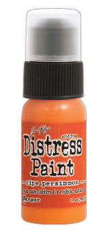 Ripe Persimmon Distress Paint - Tim Holtz