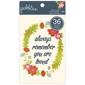 Front Porch 4 x 6 Phrase Cards - Pebbles