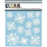Nordic Snowflakes 6 x 6 Mask Stencil - Clear Scraps