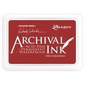 Red Geranium Archival Ink Pad