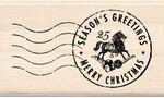 Seasons Greetings Postmark - Inkadinkado