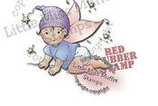 Clover New Beginnings Rubber Stamp - Little Miss Muffet