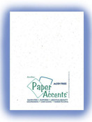 Snow Recycled 8.5 x 11 Paper Accents Cardstock 25 Pkg
