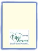 Light Ivory Linen 8.5 x 11 Paper Accents Cardstock 25 Pkg