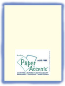 Natural Textured 8.5 x 11 Paper Accents Cardstock 25 Pkg
