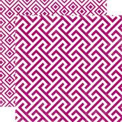 Mulberry Geometric Paper - 5th Avenue - Echo Park