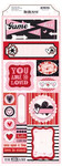 Head Over Heels Cardstock Stickers - Bo Bunny