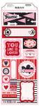 Head Over Heels Cardstock Stickers - Bo Bunny