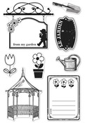 Le Jardin Garden Clear Stamps - Hero Arts