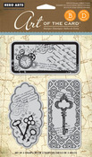 Untitled Key Cling Stamps - Hero Arts