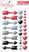 Cupids Arrow Enamel Shapes - My Minds Eye