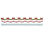 Holly, Beaded & Snowflake Garland Sizzlits - Tim Holtz