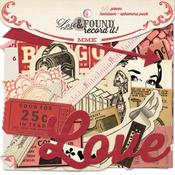 Heirloom Die-cut Embellishments - Lost & Found Record It - My Minds Eye