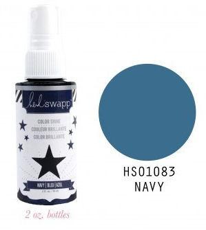 Navy Color Shine Spritz - Heidi Swapp