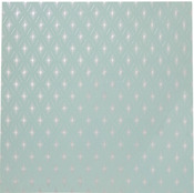 Silver Foil Snowflakes Paper - Christmas Kitsch - Anna Griffin