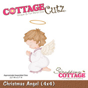 Christmas Angel 4 x 4 Metal Die - Cottage Cutz