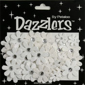 White Florette Dazzlers - Petaloo