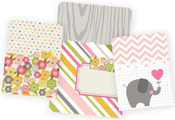 Baby Girl Snap Pockets - Simple Stories