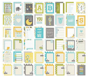 Baby Boy Snap 3 x 4 Double Sided Card Pack - Simple Stories