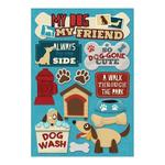 My Dog, My Friend Cardstock Stickers - Karen Foster
