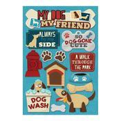 My Dog, My Friend Cardstock Stickers - Karen Foster