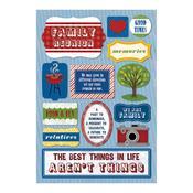 We Are Family Cardstock Stickers - Karen Foster