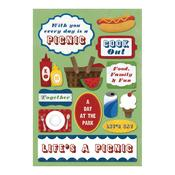 Let's Eat Cardstock Stickers - Karen Foster