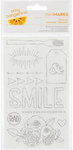 Amy Tangerine Mini Marks Rub-ons - American Crafts