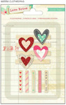 Love Notes Clothespins - Crate Paper