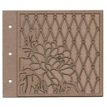 Blossom Album Laser Cut Chipboard - Leaky Shed Studio