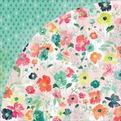 Poppy Lane Paper - Fresh Cut - Basic Grey