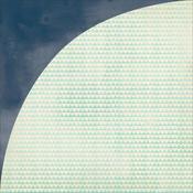 Lilac Meadow Paper - Fresh Cut - Basic Grey