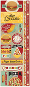 Fast Food Die Cut Cardstock Stickers - Reminisce