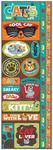 Cat Die Cut Cardstock Stickers - Reminisce