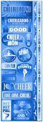 Cheerleading Die Cut Cardstock Stickers - Reminisce