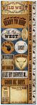 Wild West Die Cut Cardstock Stickers - Reminisce