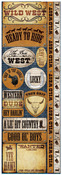 Wild West Die Cut Cardstock Stickers - Reminisce