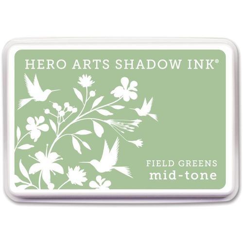 Field Greens Shadow Ink Pad - Hero Arts