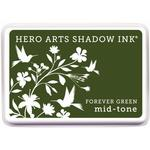 Forever Green Shadow Ink Pad - Hero Arts