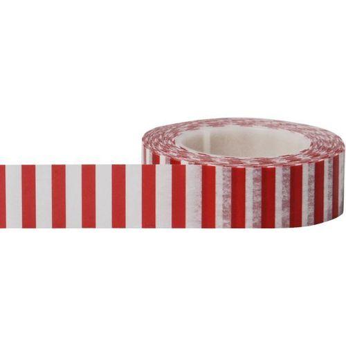 Red Side Stripe Washi Tape - Little B