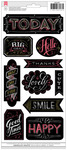 Everyday Chalkboard Stickers - American Crafts