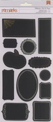 Halloween Chalkboard Stickers - American Crafts