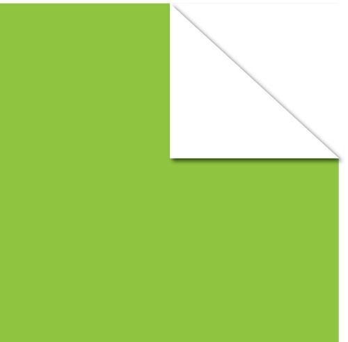 Lime Green On White Paper - Canvas Corp