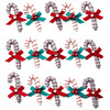 Candy Cane Dimensional Repeat Stickers - Jolees
