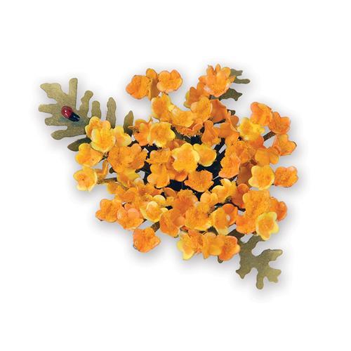 Yarrow Flower Sizzix Thinlits Die Set - Susan's Garden