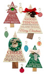 Holiday Word Tree Stickers - Jolees