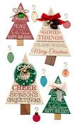 Holiday Word Tree Stickers - Jolees